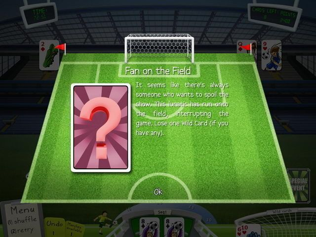 Soccer Cup Solitaire - Screenshot 2