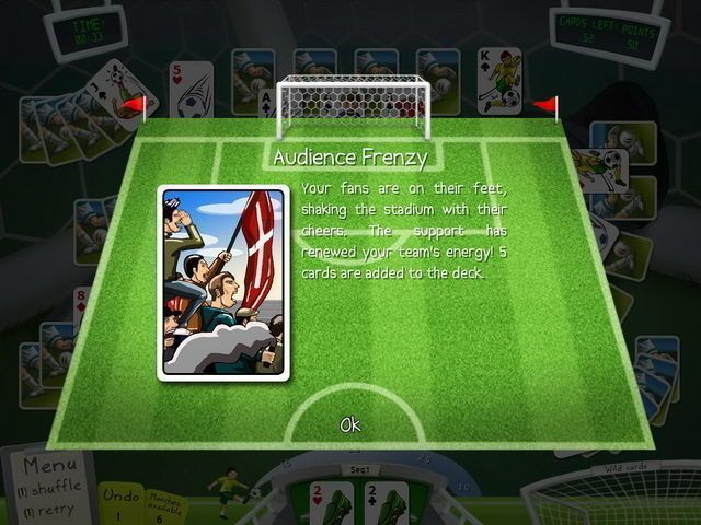 Soccer Cup Solitaire - Screenshot 4