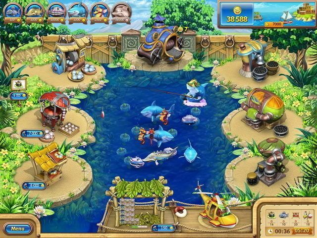Download game Farm Frenzy: Gone Fishing | Download free game