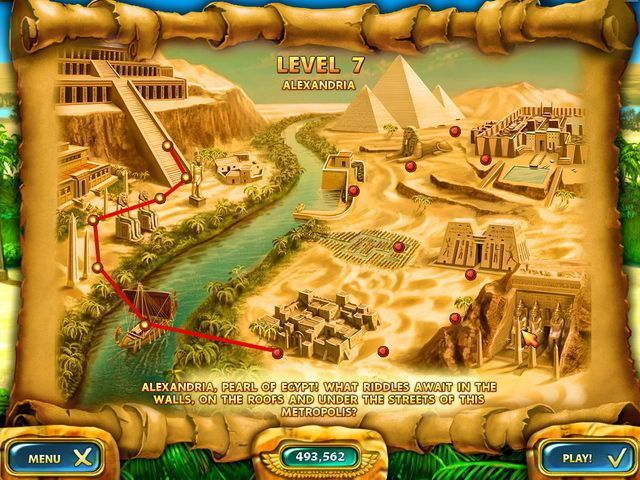 Mahjongg: Ancient Egypt - Screenshot 2