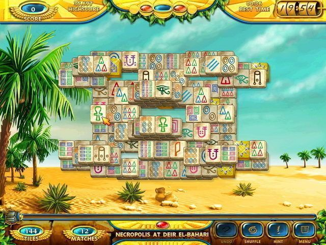 Mahjongg: Ancient Egypt - Screenshot 3