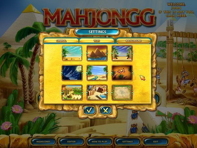 Mahjongg: Ancient Egypt - Screenshot 4