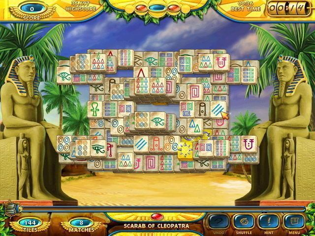 Mahjongg: Ancient Egypt - Screenshot 6