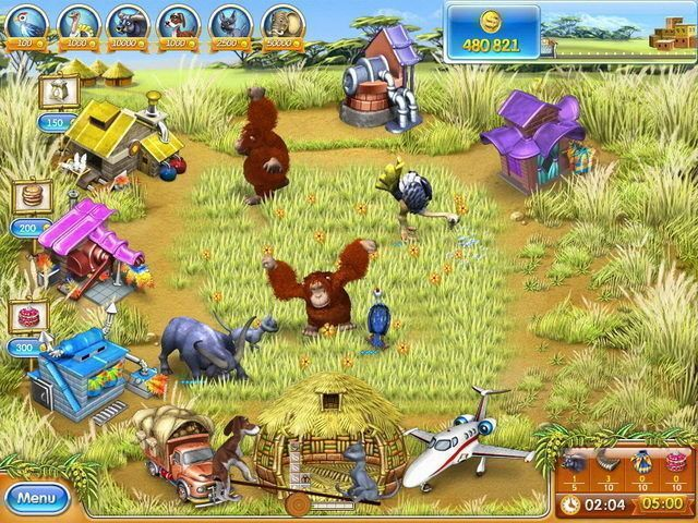 Farm Frenzy 3: Madagascar - Screenshot 2
