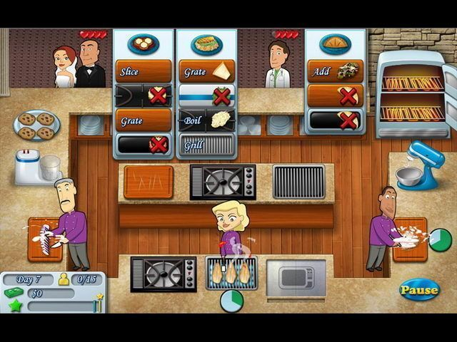 Kitchen Brigade - Screenshot 1