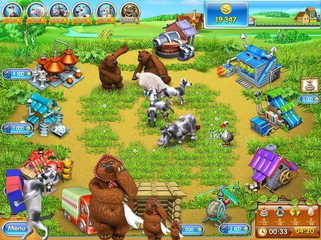 Download game Farm Frenzy 3: Russian Roulette | Download