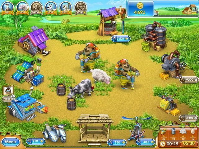 Download game Farm Frenzy 3: Russian Roulette   Download