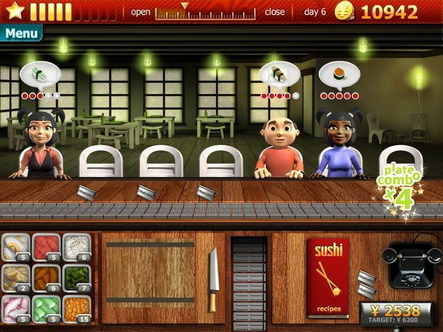 Youda Sushi Chef - Screenshot 2
