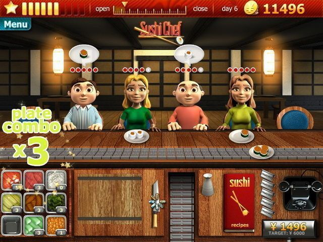 Youda Sushi Chef - Screenshot 3