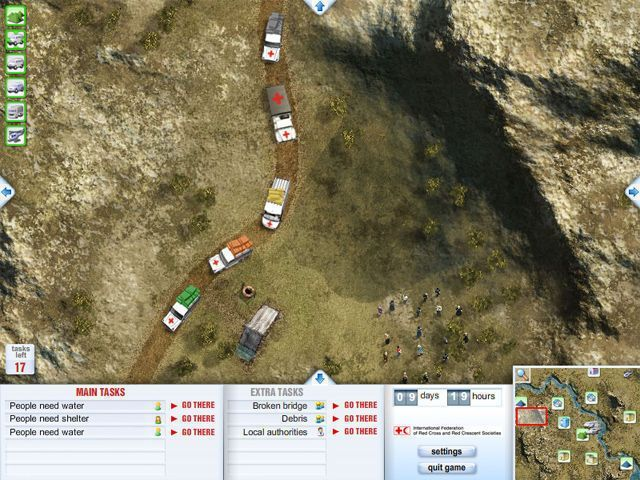 Red Cross Emergency Response Unit - Screenshot 2