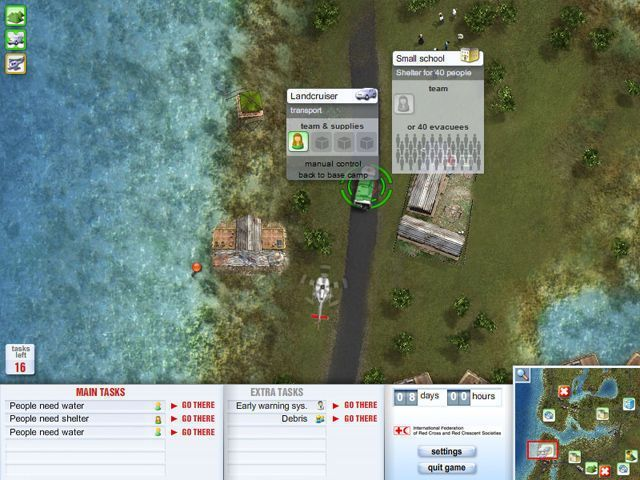 Red Cross Emergency Response Unit - Screenshot 3