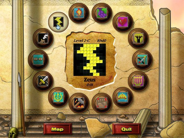 World Mosaics - Screenshot 1