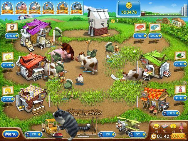 Download game Farm Frenzy 2 | Download free game Farm Frenzy 2