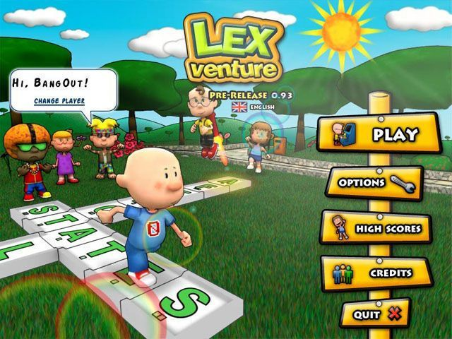 Lex Venture - A Crossword Caper - Screenshot 1