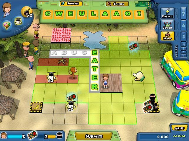 Lex Venture - A Crossword Caper - Screenshot 7