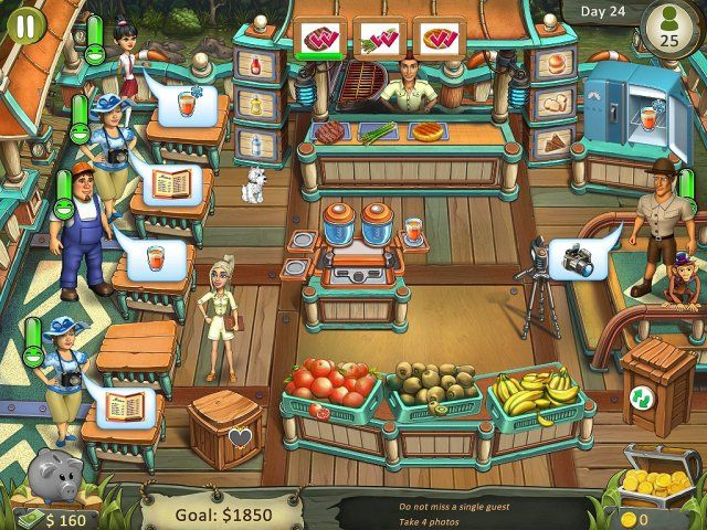Katy and Bob: Safari Cafe. Collector's Edition - Screenshot 2