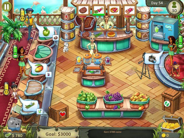 Katy and Bob: Safari Cafe. Collector's Edition - Screenshot 3