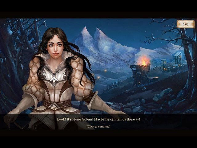 Snow White Solitaire. Charmed Kingdom - Screenshot 4
