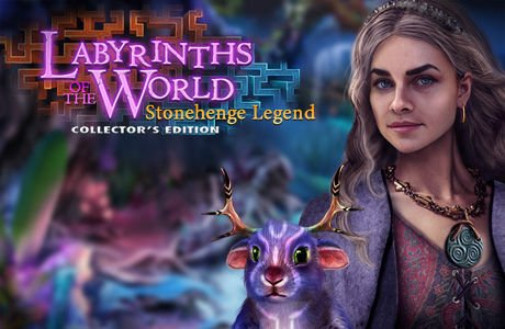 Labyrinths Of The World: Stonehenge Legend. Collector's Edition
