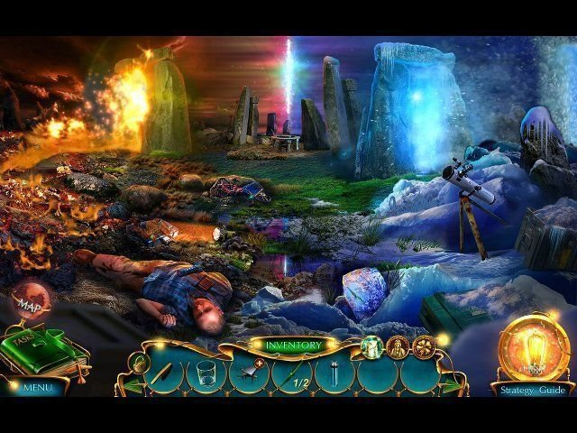 Labyrinths Of The World: Stonehenge Legend. Collector's Edition - Screenshot 5