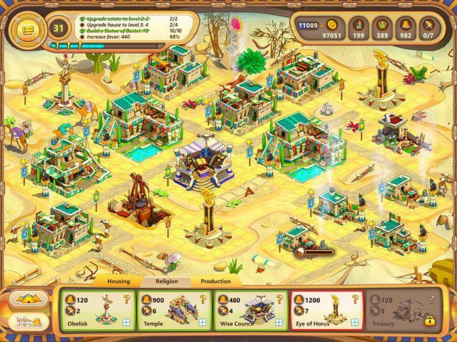 Ramses: Rise of Empire. Collector's Edition - Screenshot 7
