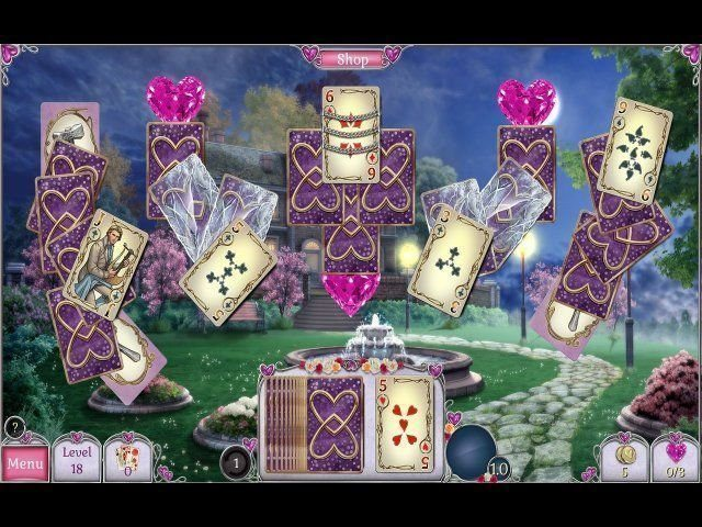 Jewel Match Solitaire: L'Amour - Screenshot 4