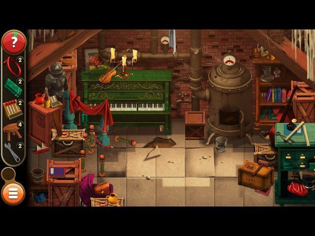 Mortimer Beckett and the Book of Gold. Collector's Edition - Screenshot 5