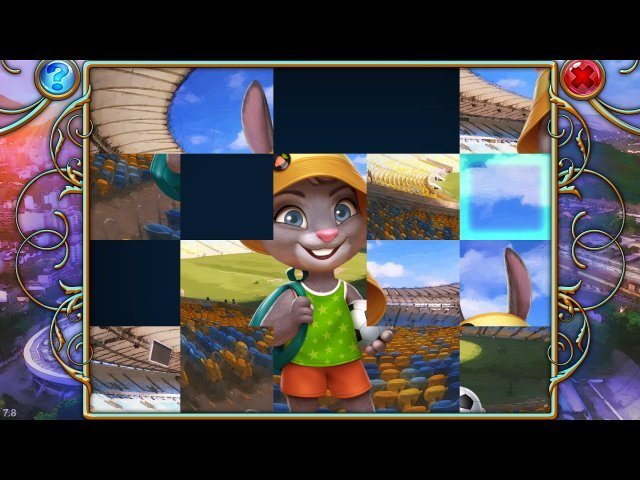 Travel Mosaics 4: Adventures in Rio - Screenshot 3