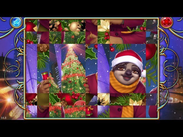 Travel Mosaics 6: Christmas Around the World - Screenshot 3