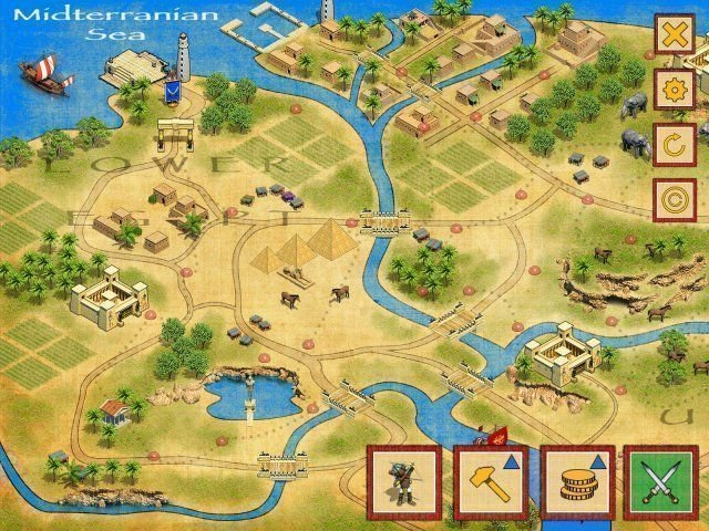 Defense of Egypt: Cleopatra Mission - Screenshot 1