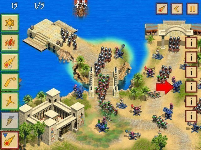 Defense of Egypt: Cleopatra Mission - Screenshot 2
