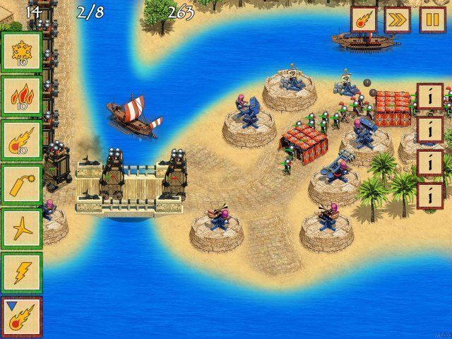 Defense of Egypt: Cleopatra Mission - Screenshot 3
