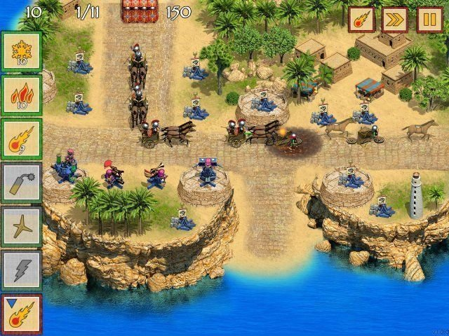 Defense of Egypt: Cleopatra Mission - Screenshot 4