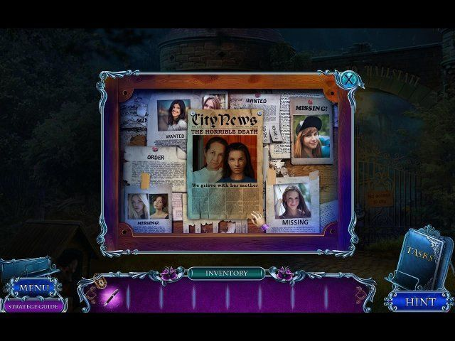 Mystery Tales: Her Own Eyes. Collector's Edition - Screenshot 3