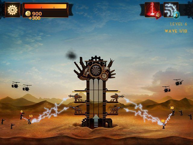 Steampunk Tower - Screenshot 1