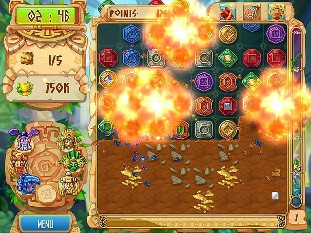 The Treasures of Montezuma 5 - Screenshot 2