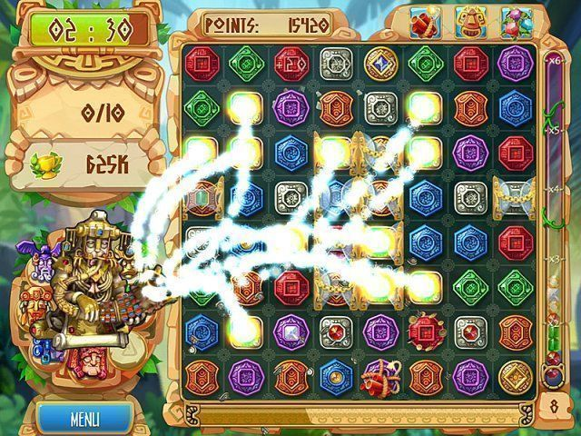 The Treasures of Montezuma 5 - Screenshot 3