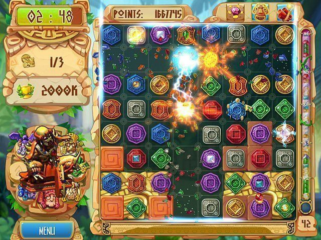 The Treasures of Montezuma 5 - Screenshot 4
