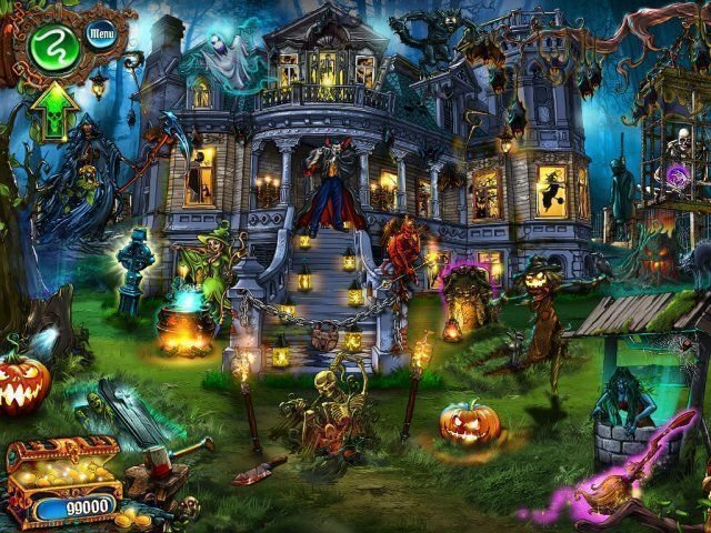 Save Halloween: City of Witches - Screenshot 1