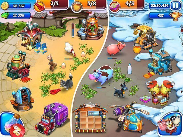 Download game Farm Frenzy and Crazy Bear Island | Download