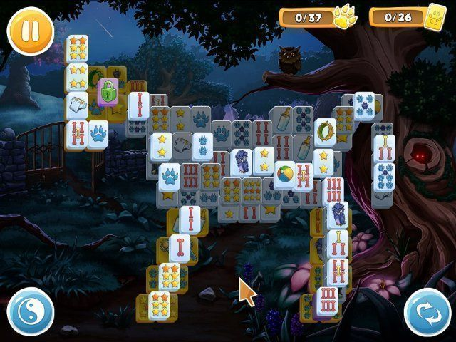 Mahjong: Wolf's Stories - Screenshot 1