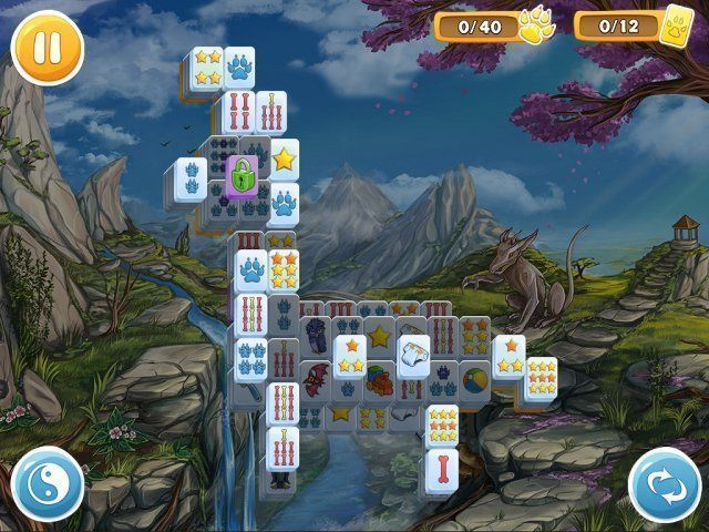 Mahjong: Wolf's Stories - Screenshot 4