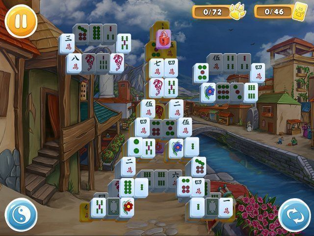 Mahjong: Wolf's Stories - Screenshot 5