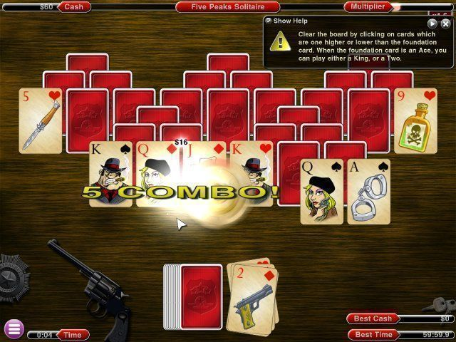 Crime Solitaire 2: The Smoking Gun - Screenshot 1