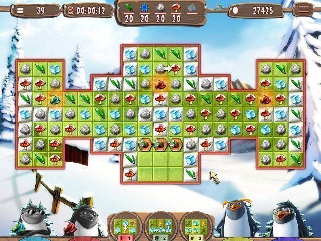 Yeti Quest: Crazy Penguins - Screenshot 1